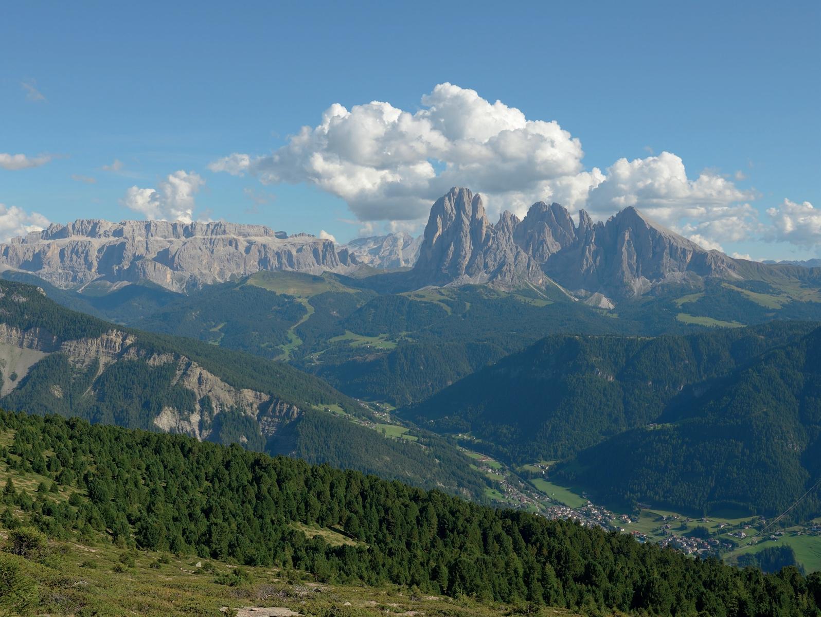 Die Dolomiten gehören ebenfalls zum Weltnaturerbe © Michael Sänger