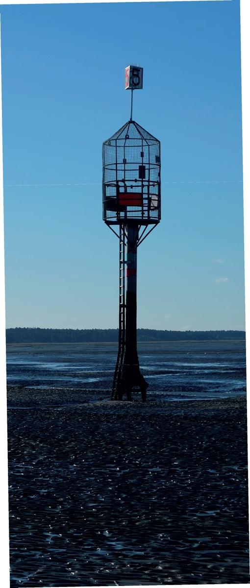 Rettungsbake, vulgo »Kurgastreuse« © Die Nordsee GmbH, Lutz Bormann