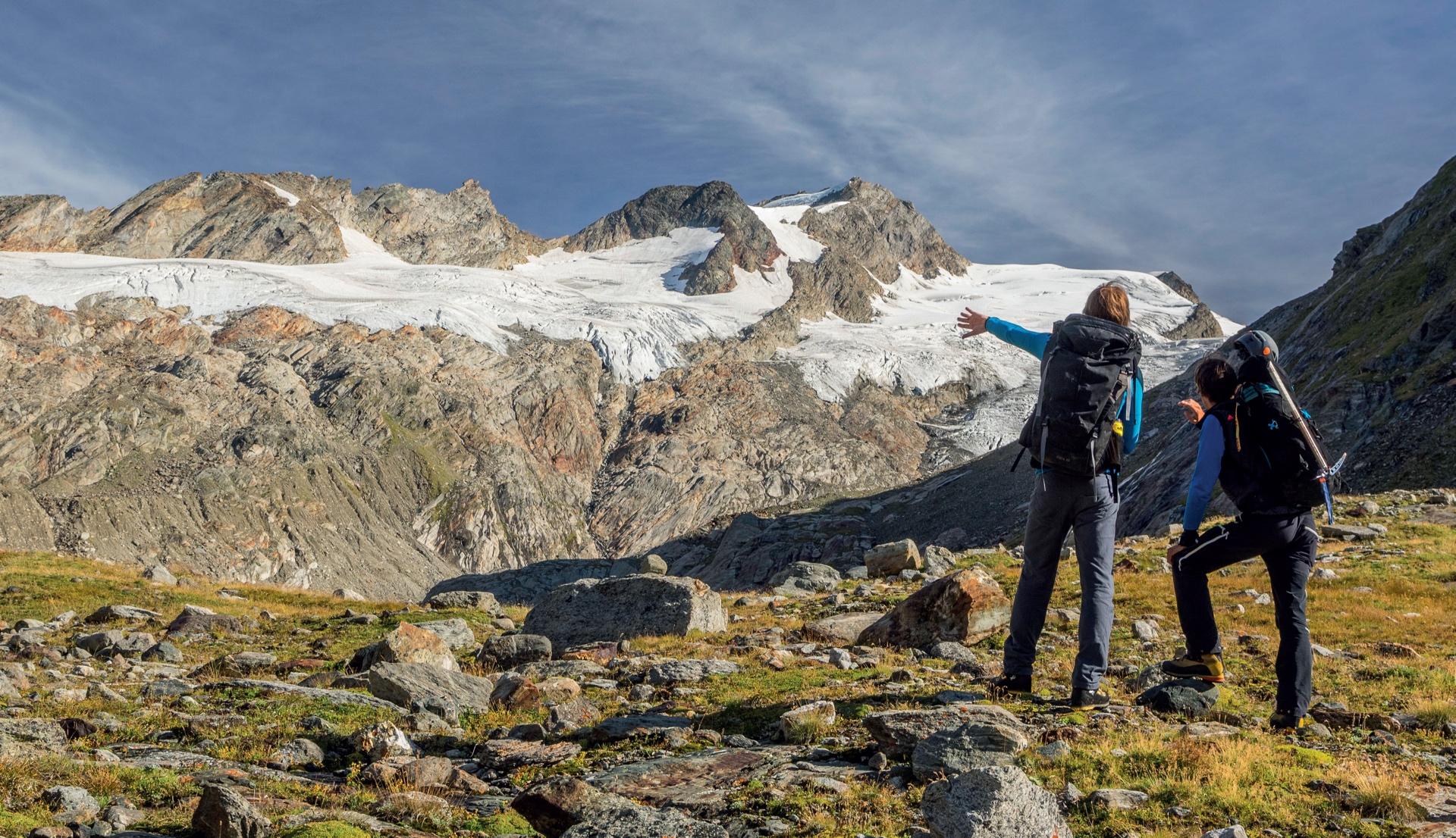 Die Wiege der wilden Isel: das Gletscherbecken des Umbalkees © Daniel Egger