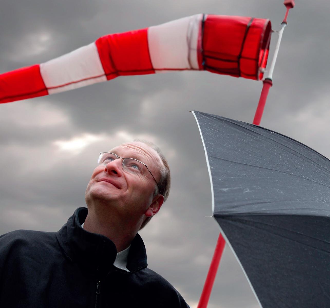 Das Wetter im Ersten: Meteorologe und Moderator Sven Plöger © Archiv Sven Plöner