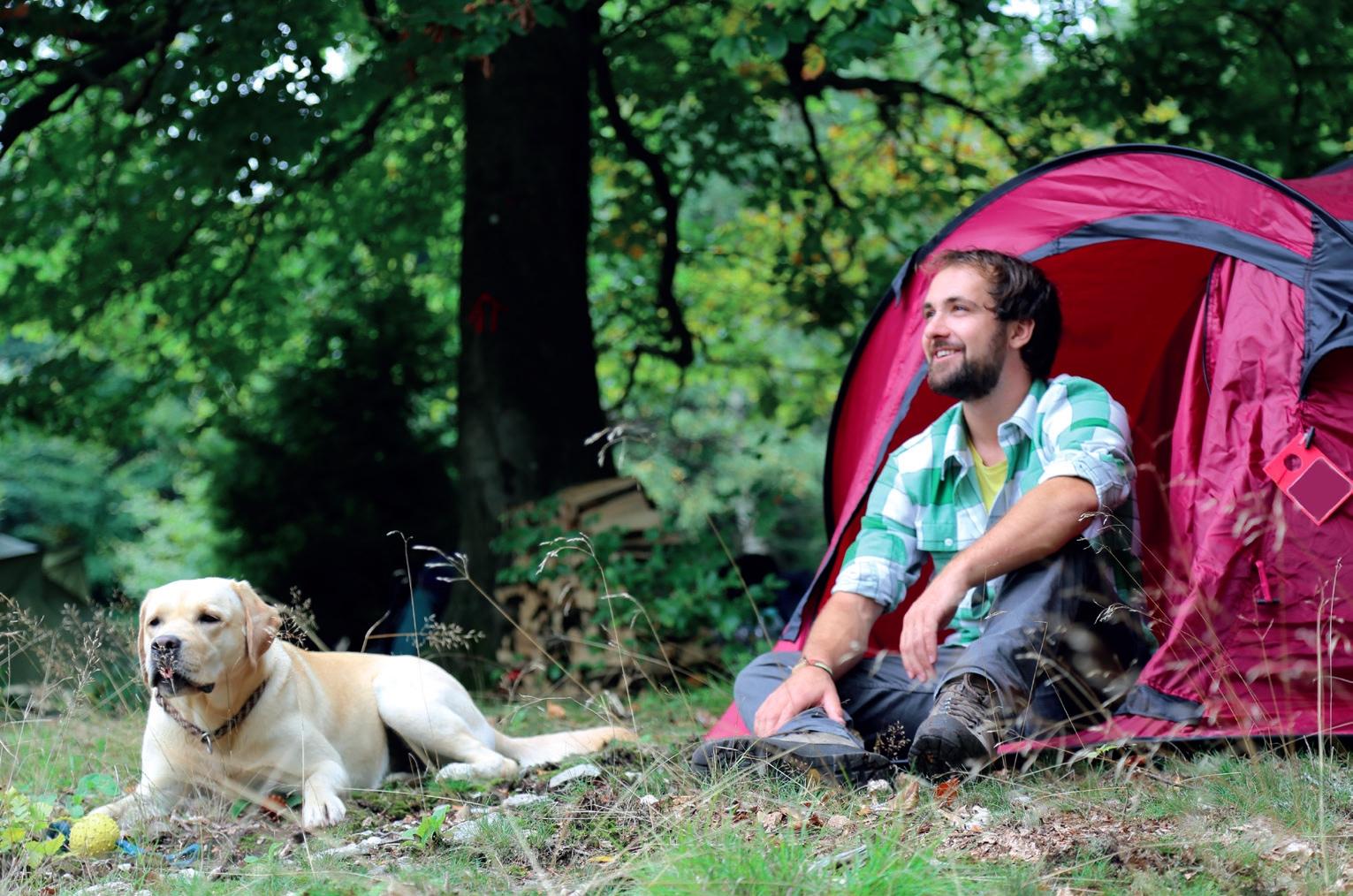 Trekkingcamp Ellerspring © www.soonwaldsteig.de