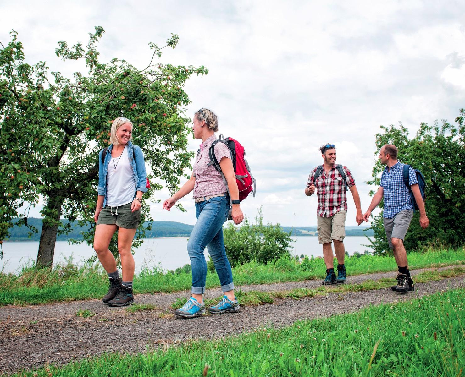 Wandern im Fränkischen Seenland © Florian Trykowsk