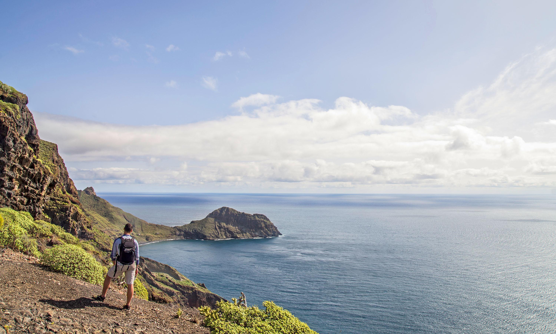 Bei frühlingshaften Temperaturen wandert man auf Teneriffa durch verschiedene Vegetationszonen mit teilweise endemischen Pflanzen. © Turismo de Tenerife