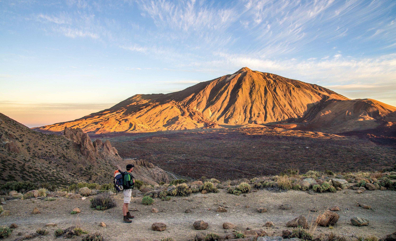 Vor der Kulisse des Teide © Turismo de Tenerife