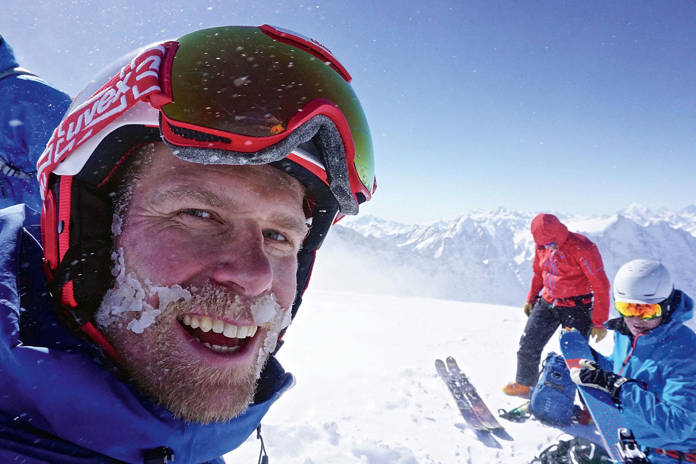 """Tobias Geisler""""Das Skifahren hatmich zum Entdecker gemacht."""" © Archiv Geisler"""
