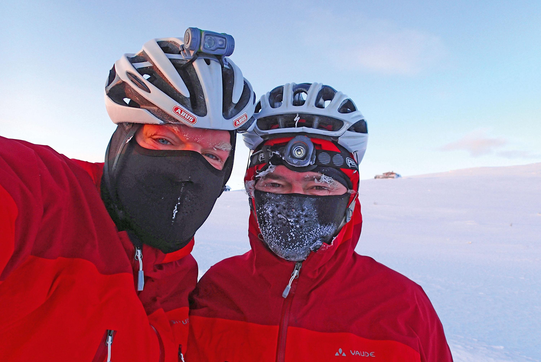 Glücklich bei minus 35 Grad © Archiv Gunnar Fehlau