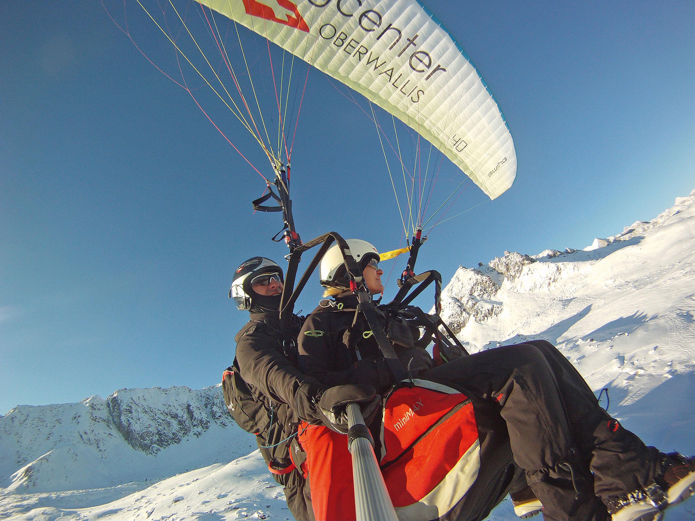 Abenteuer Tandemflug © TVB Aletsch Arena