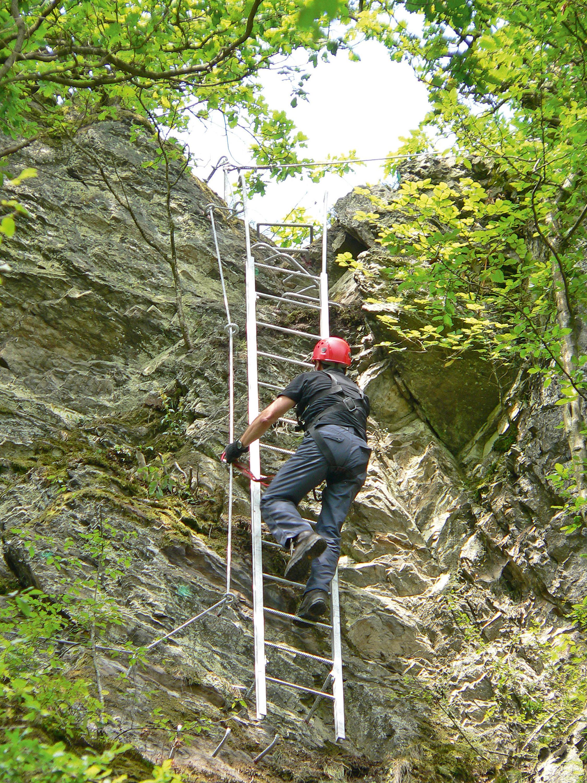 Der Hölderstein-Klettersteig im Westerwald © Westerwald Touristik-Service