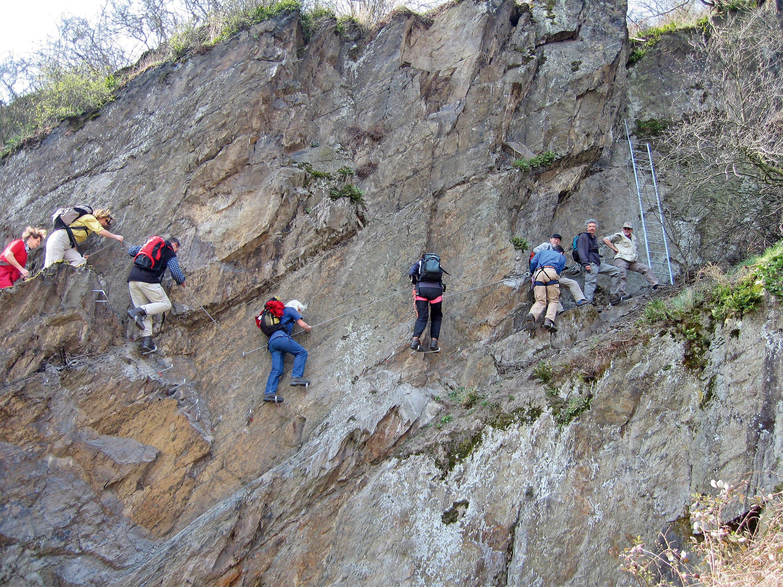 Klettersteig Sächsische Schweiz : Outdoor welten