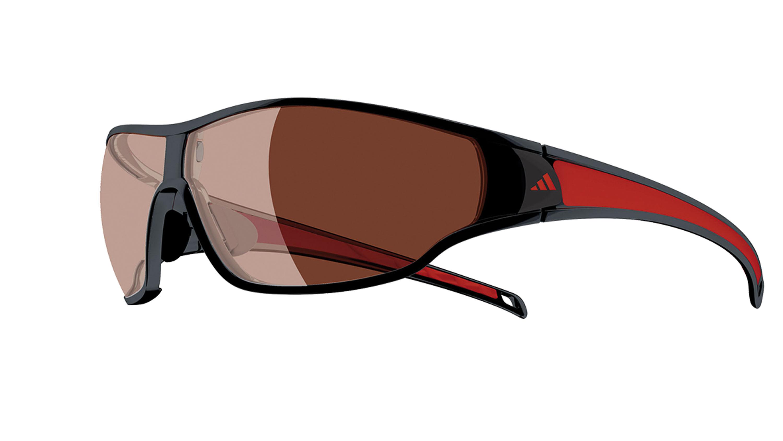 ADIDAS EYEWEAR TYCANE LST POL H  Extrem große, stark gewölbte Gläser, UV-Schutz, POL-Filter und hydrophobe Beschichtung für vollen Durchblick. © adidas eyewear
