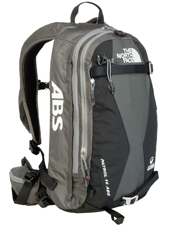 THE NORTH FACE PATROL ABS Sicherheit durch eine LVS-Ausrüstung – der ABS-Rucksack gehört dazu. © The North Face