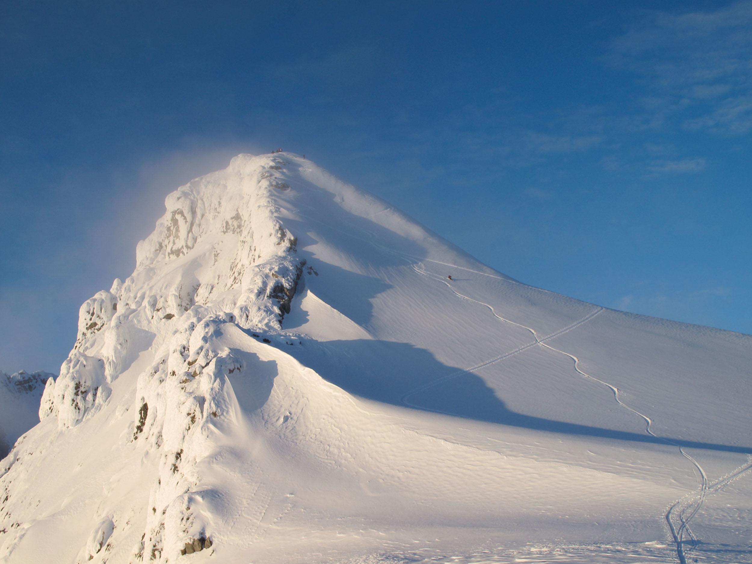 Einer der markantesten Gipfel der Selkirk Mountains: der Christian Peak.  © Archiv Larry Dolecki