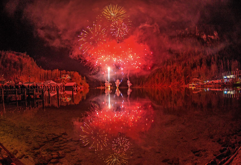 Das Feuerwerk © Klaus-Peter Kappest