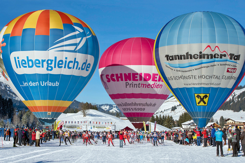 Jedes Jahr das große Internationale Ballonfestival © TVB Tannheimer Tal, Rolf Marke