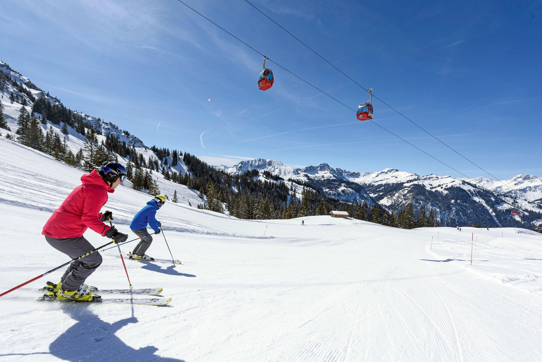 Großzügige Pisten für Ski alpin © Tannheimer Tal, Wolfgang Ehn