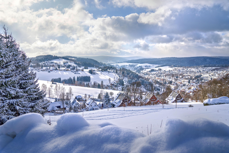 Klingenthal im Schneemantel © TV Erzgebirge, Tino Peisker