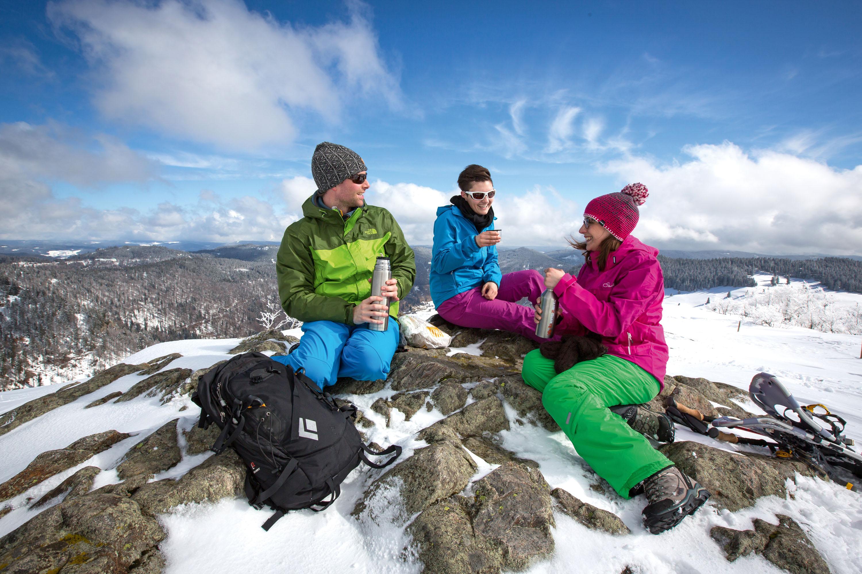 Gipfelrast mit Rundblick © Hochschwarzwald Tourismus GmbH, Baschi Bender