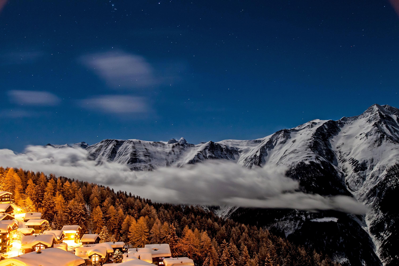 Winterparadies ohne störenden Verkehr © Christoph Gerber