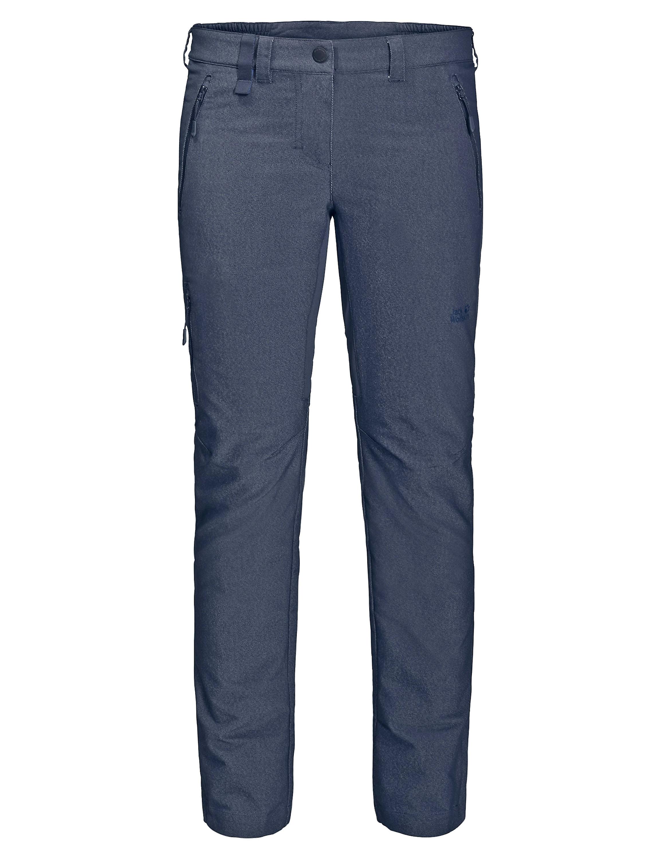 Jack Wolfskin Activate Sky Pants Softshell für die Reise! Diese Hose sieht aus wie eine Denim, aber stellt diese in den Schatten. Elastisch, atmungsaktiv, leicht, schnell trocknend und leicht wasserabweisend. Eine Reisehose für alle Gelegenheiten. 99,95 Euro