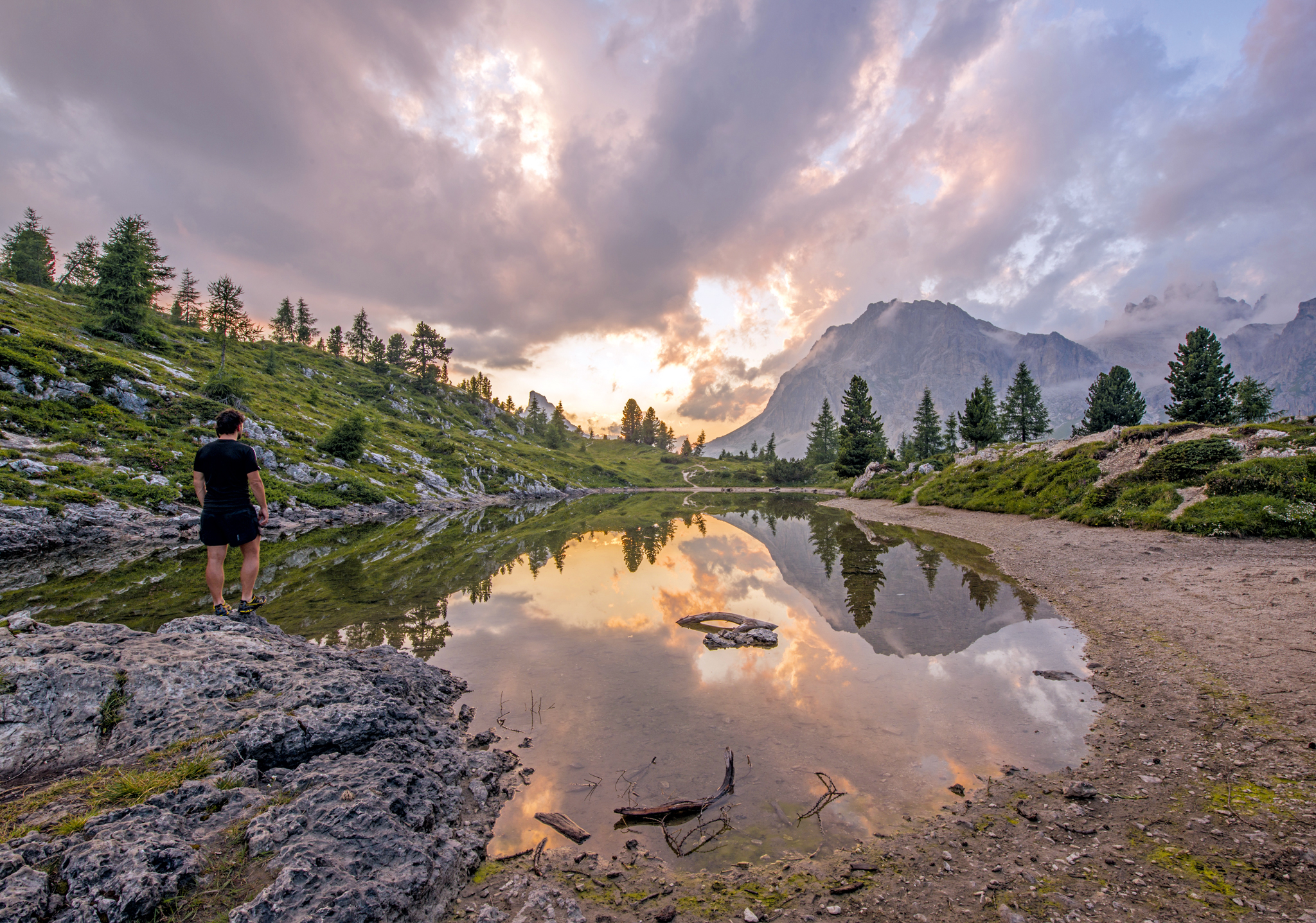 Ist das der Augenblick, in dem wir eins werden mit dem Bild unserer Sehnsucht? © xphere.com
