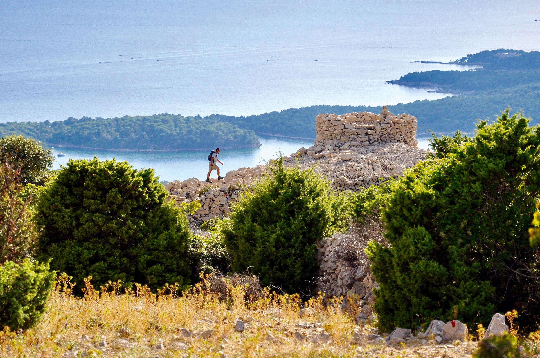 Aussichtspunkt hoch über Rab © Rab Tourism Board, Goran Novotny