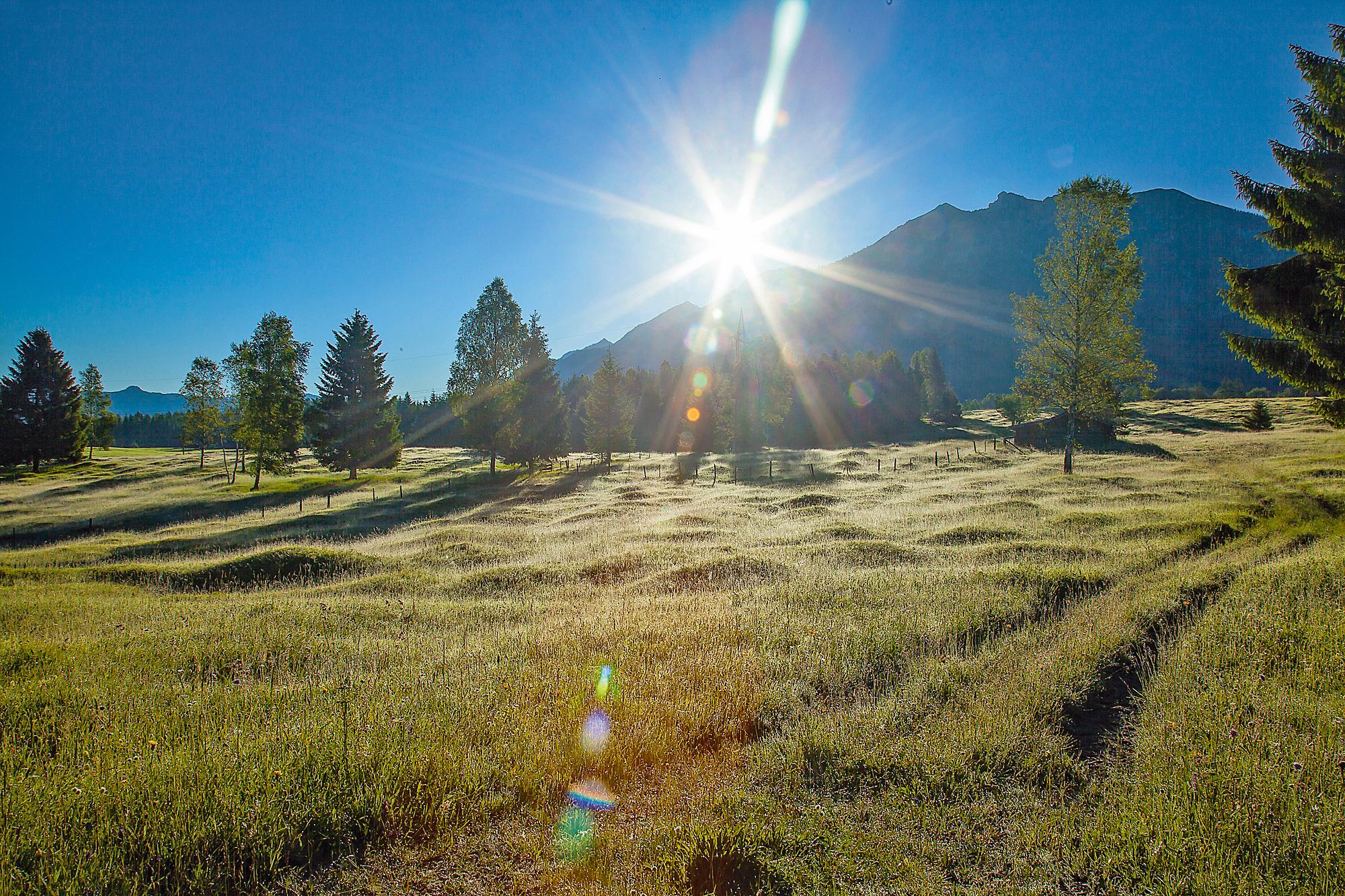 Ausblick Buckelwiesen © Alpenwelt Karwendel, Hubert Hornsteiner