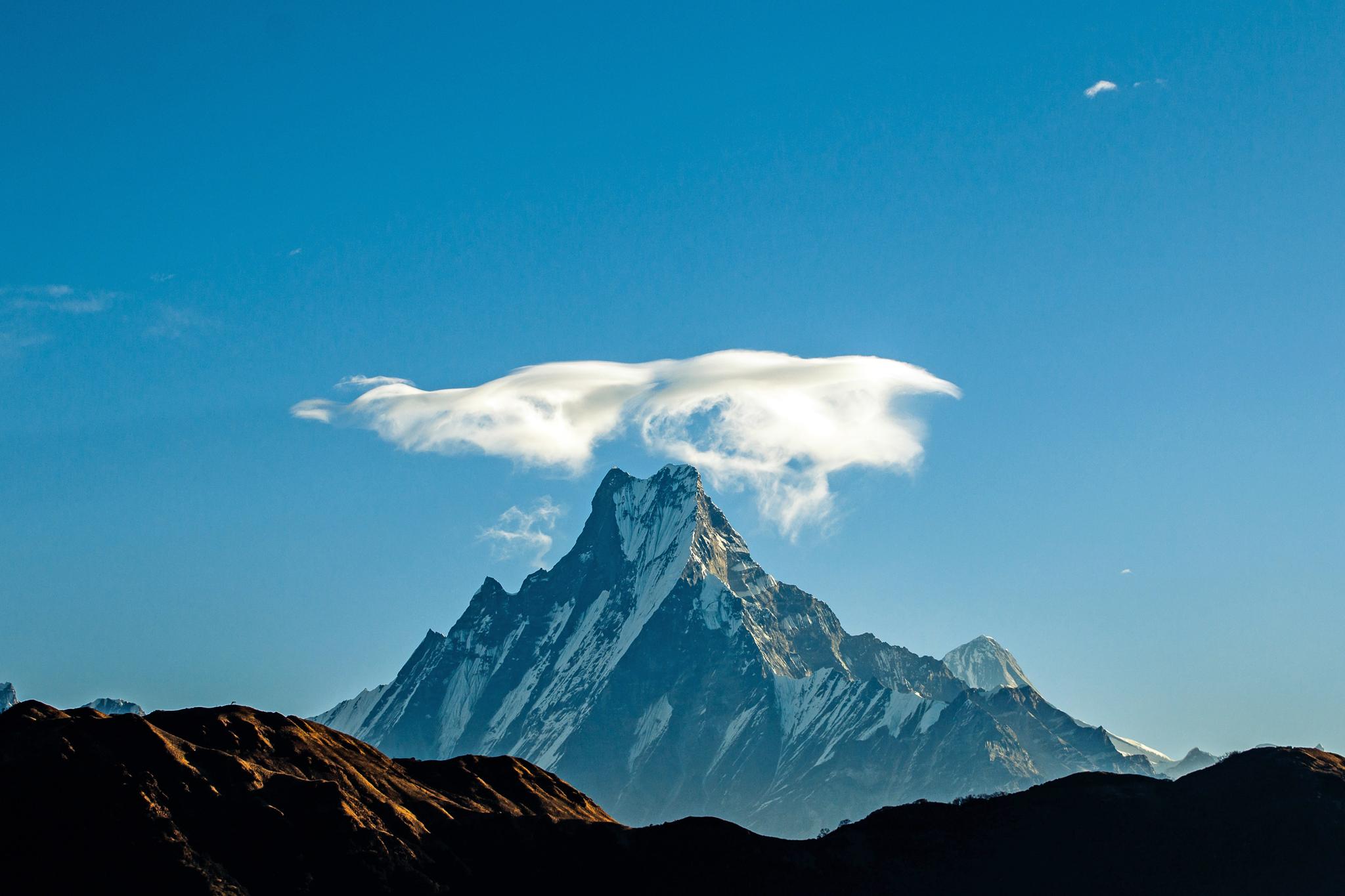 Machapuchare, heiliger Berg im Annapurna-Massiv © www.pxhere.com