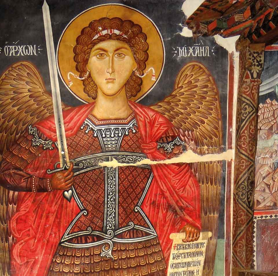 Wertvolle Fresken, Archangelos Michail © Troodos Tourism Board