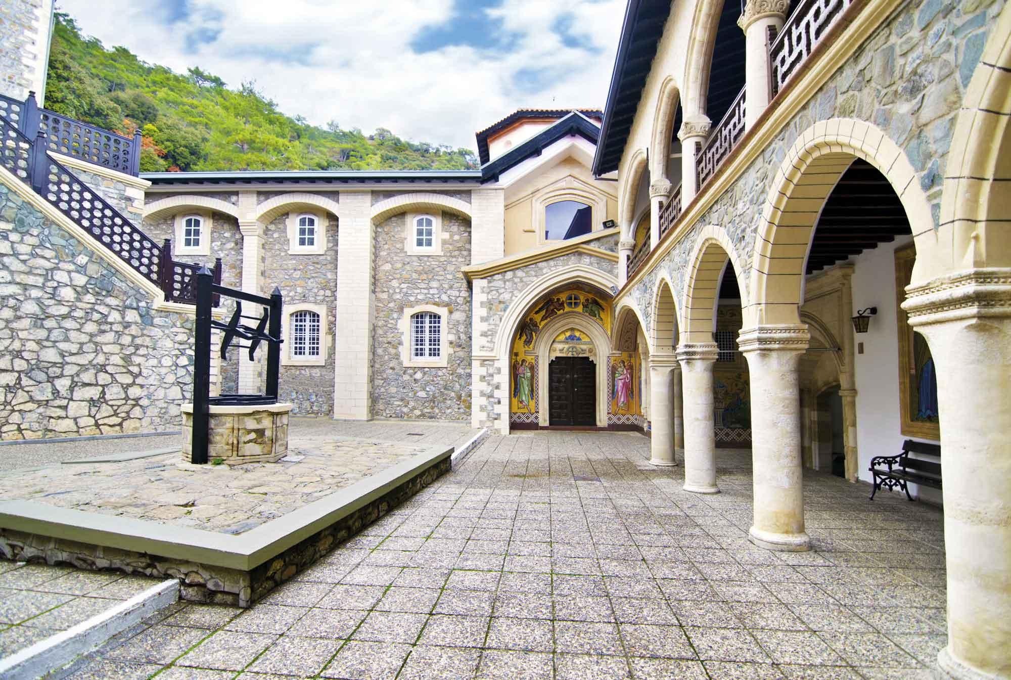 Das Kloster von Kykkos © Troodos Tourism Board