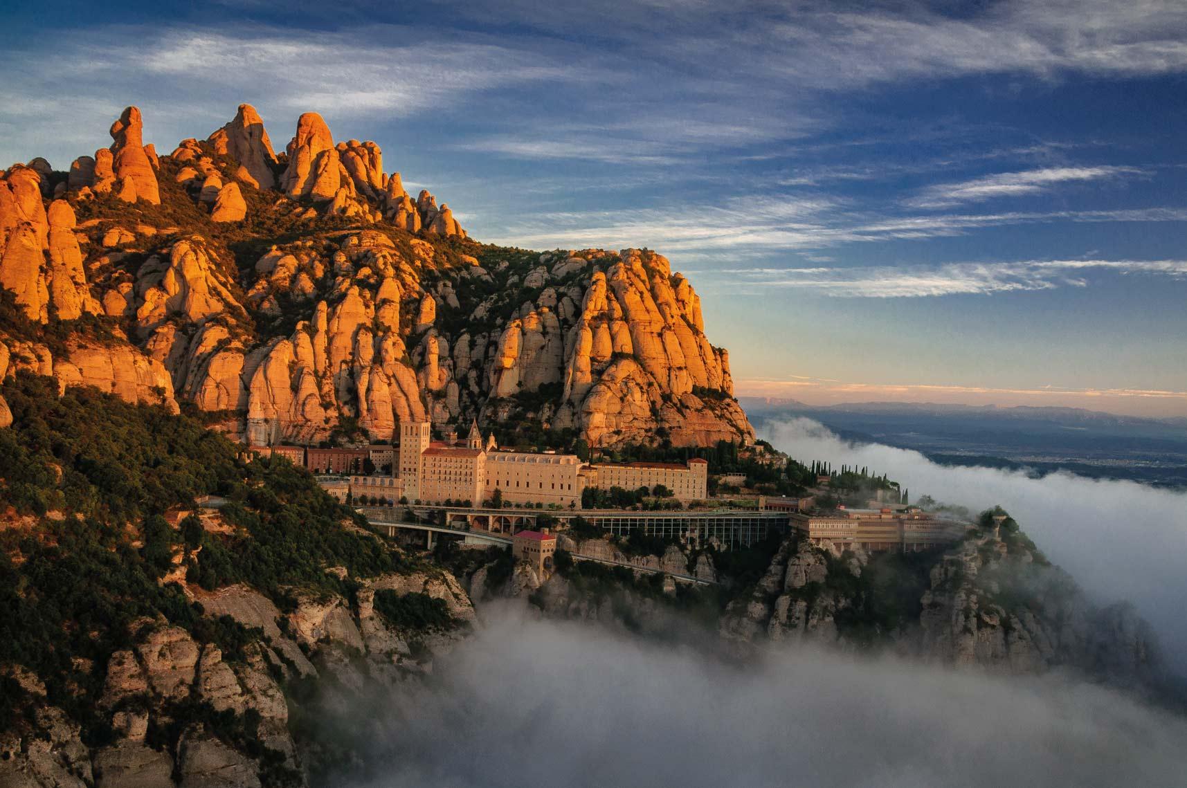 Montserrat ist ein Höhepunkt des Ignatiusweges ©S. Boixader