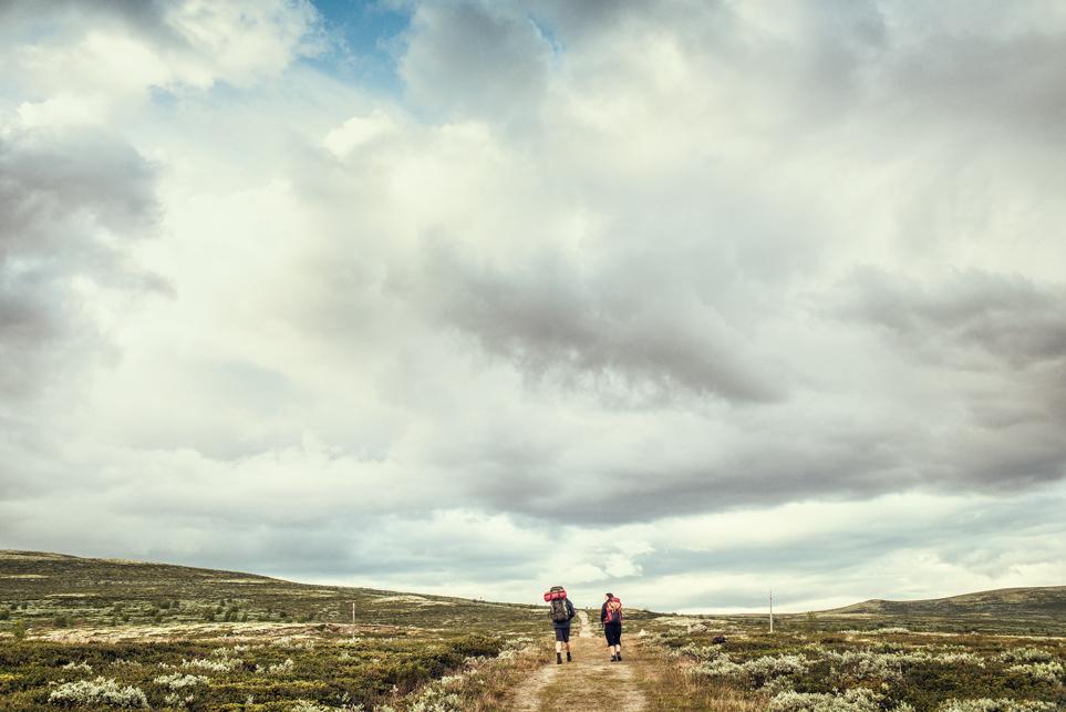 Das Netz der Olavswege erschließt die unterschiedlichsten Landschaften Skandinaviens © Håvard Johansen