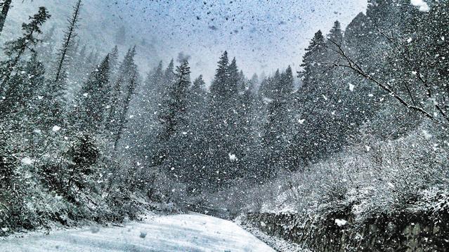 Schneegestöber © pxhere.com