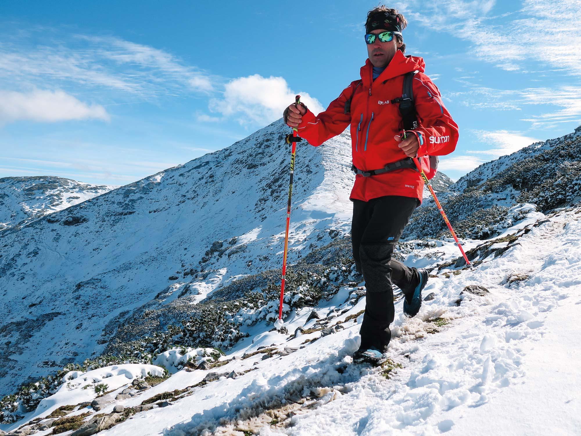 Peter Schlickenrieder unterwegs im Hochgebirge während der 24h-Trophy © www.peter-schlickenrieder.de