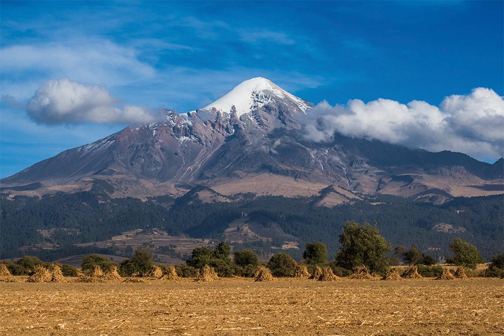 Der imposante Orizaba Vulkan in Mexiko © Adrian Rohnfelder. Alle Rechte vorbehalten.