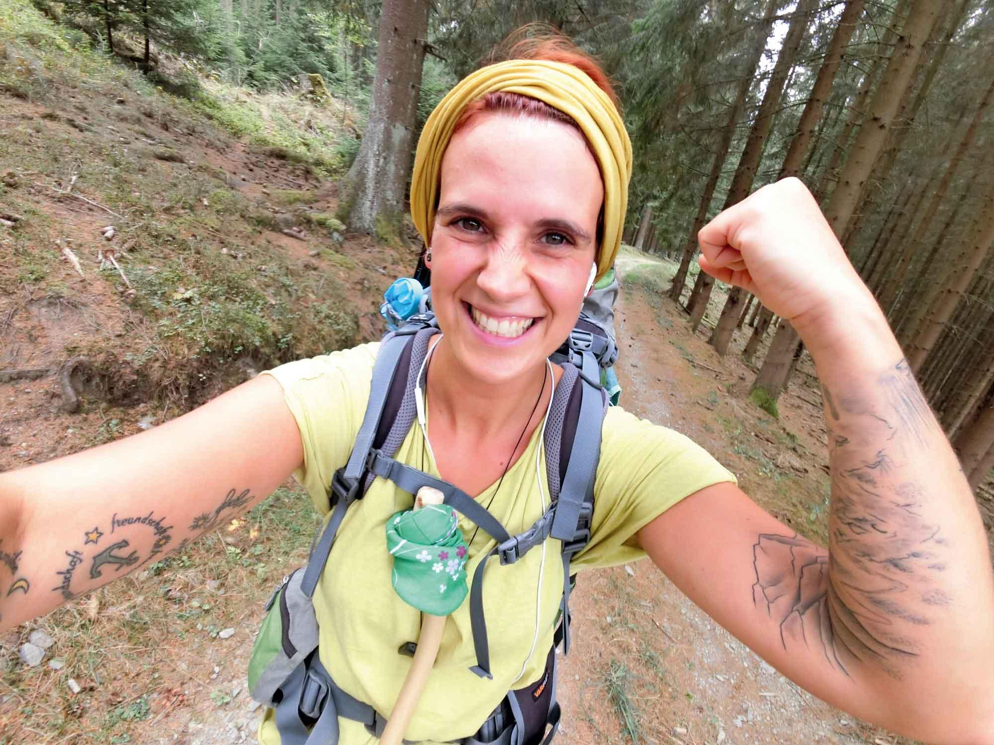 Hanna Engler hat sich in ein mehrtägiges Abenteuer gestürzt und war begeistert. © Hanna Engler