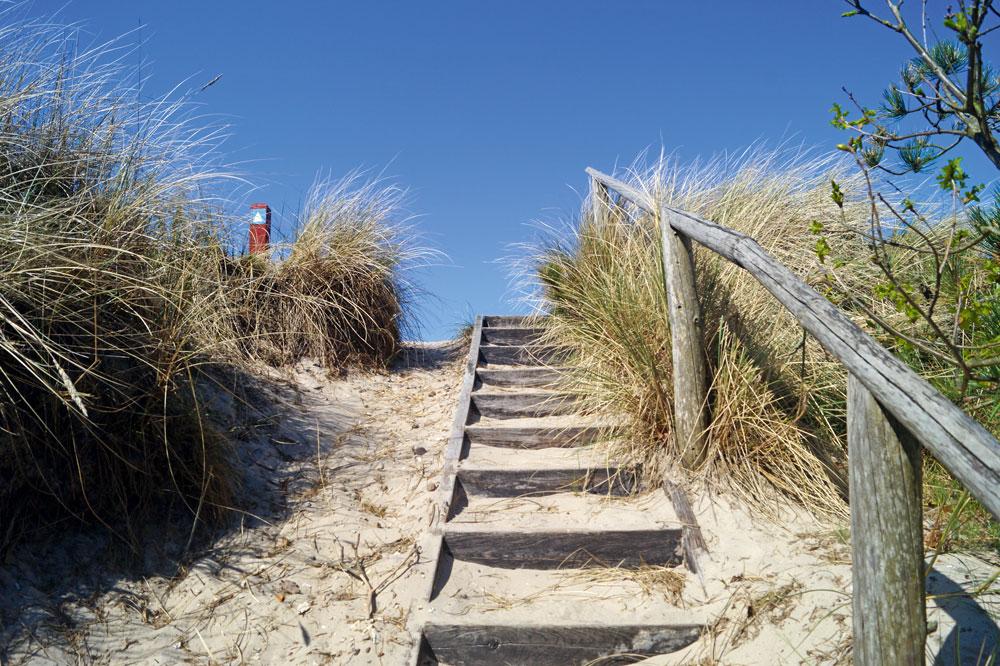 Nur wenige Schritte bis zur Dünenlandschaft an der Nordseeküst © Visit Holstebro