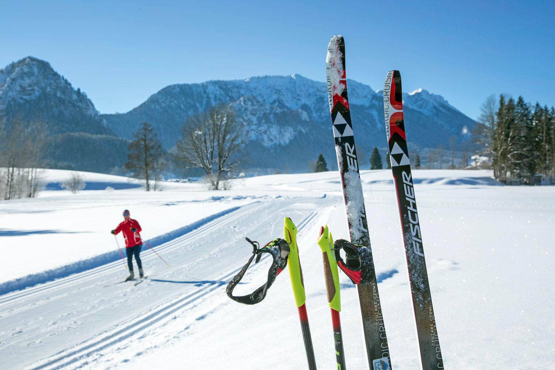 Auch für konditionsstarke Langläufer hat Inzell mit 80 Kilometern gespurten Loipen viel zu bieten © Inzeller Touristik GmbH