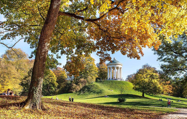 Englischer Garten im Herbst, München © pixabay