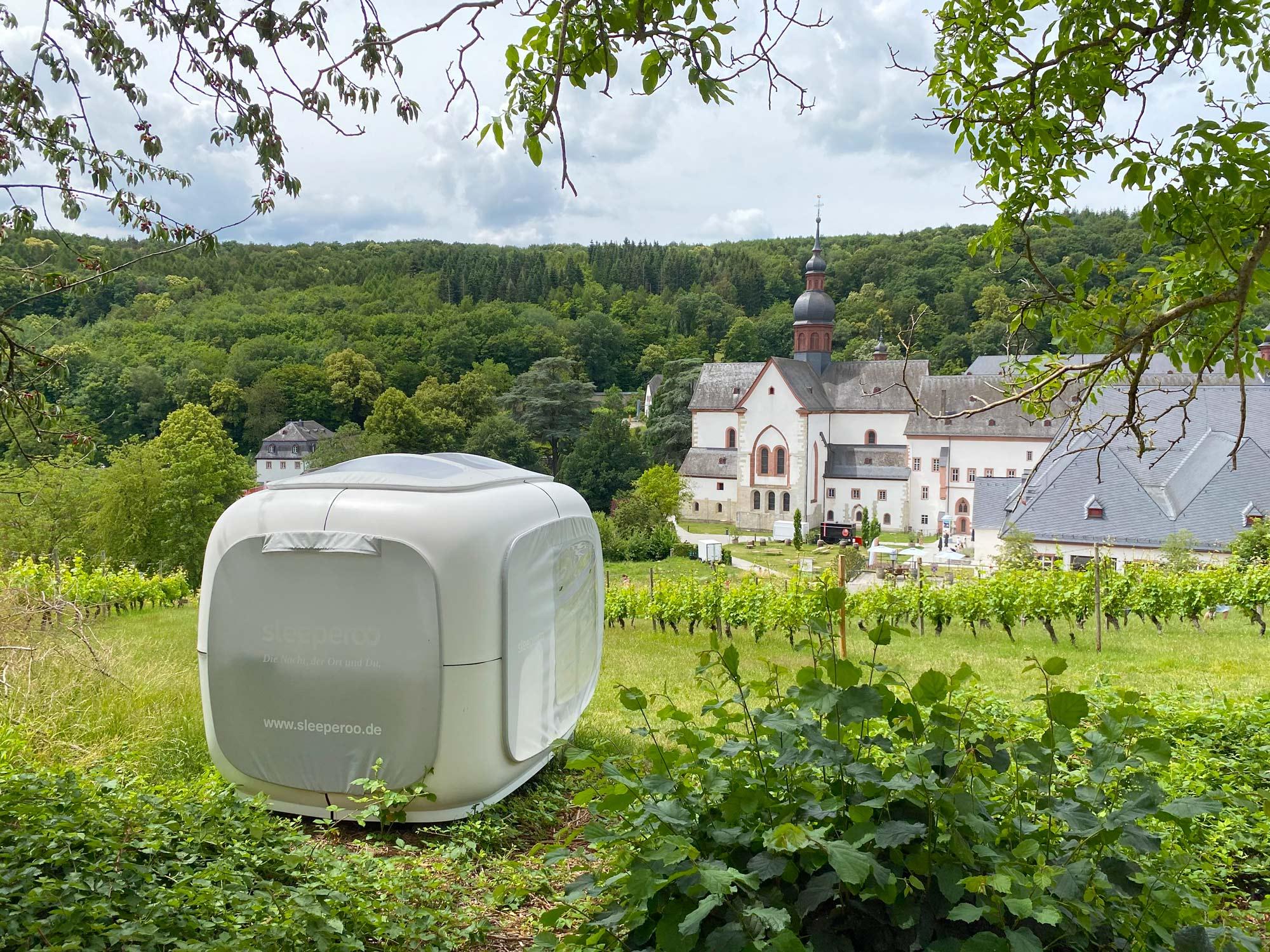 sleeperoo am Kloster Eberbach © Stiftung Kloster Eberbach