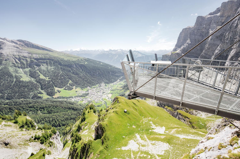 Gemmi Aussichtsplattform © My Leukerbad AG