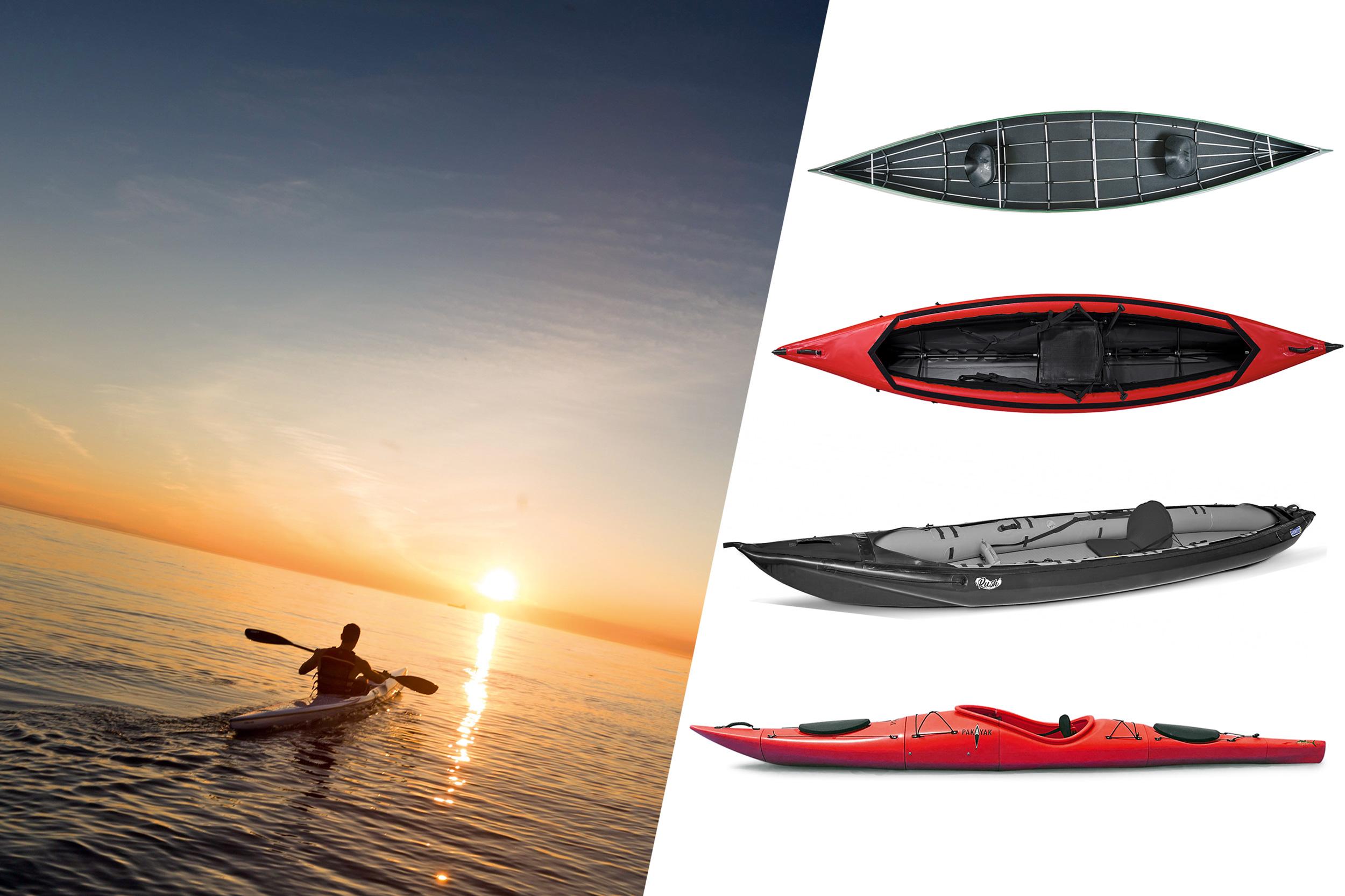 Einfach los paddeln und mobil sein mit transportablen Booten