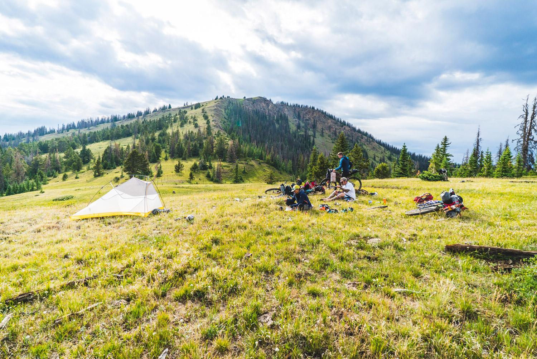 Mit Sack und Pack auf dem Rad durch die Natur © Big Agnes