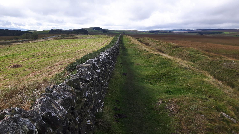 Reste aus der Römerzeit: Hadrian's Wall Alle Fotos: © Ralf Stefan Beppler