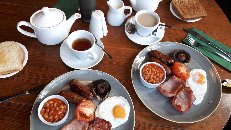 English Breakfast, die Kalorien reichen für den ganzen Tag