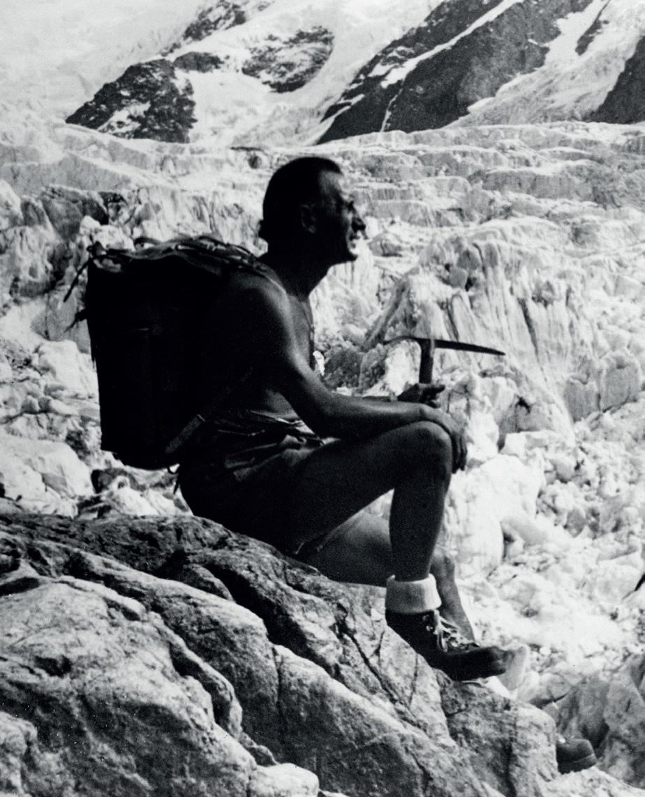Firmengründer Vitale Bramani, starker Alpinist und Seilgefährte von Ettore Castiglioni