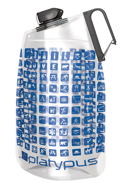 Platypus Duolock Softbottle Clever trinken! Die flexible 1-Liter-Flasche aus Polyethylen – BPA-, BPS- und Phtalat frei – lässt sich auf das Maß zurückdrücken, dass das Getränk nicht schlackert und die Flasche nicht unnötig Platz verbraucht. Durch den großen Karabiner auch außen am Rucksack oder der Messengerbag zu befestigen. 16,95 Euro