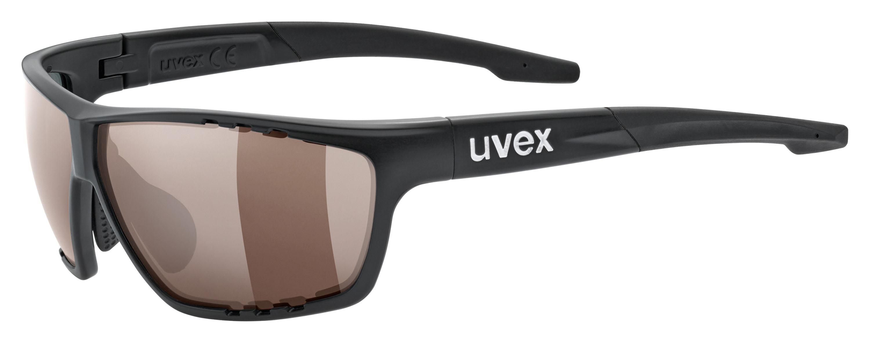 Uvex Colorvison Brille Farbig sehen! Ein brillantes Seherlebnis verspricht Uvex. Colorvision. Nicht nur für alle, die alles immer nur schwarz-weiß malen. Verbesserte Braun-Grün-Töne für bessere Tiefenwirkung und bessere Kontraste auf einem Trail. 89,95 Euro