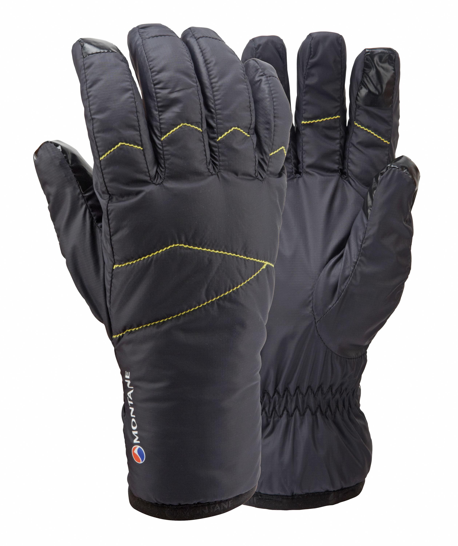 Montane Prism Glove Kleiner als ein Apfel, aber wärmer als ein Bratapfel. Der Prism-Handschuh besticht durch eine Primaloft-Goldisolierung. Klein im Packmaß, anschmiegsam auf der Haut und warm in der Leistung. Ideal auch für Aktivitäten, bei denen man nasse Hände bekommt, weil man selbst dann noch warme Hände hat. 54,95 Euro