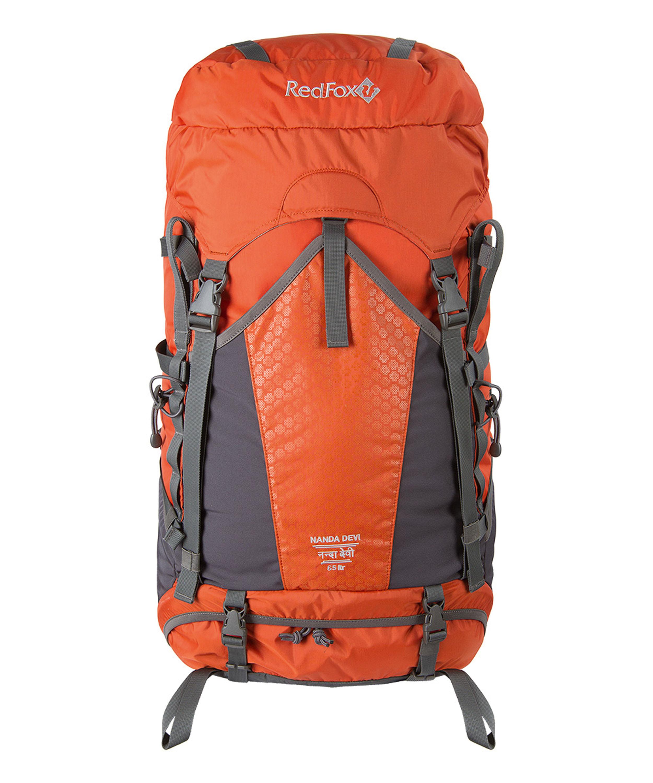Red Fox Nanda Devi 65 Frauenpower! Ein spezieller Rucksack für die Trekkerin mit einem sattenVolumen von 65 Litern. Groß genug für eine komplette Tourenausrüstung, und wenn das immer noch nicht reicht, gibt es noch das Steckfach vorne. 230,00 Euro