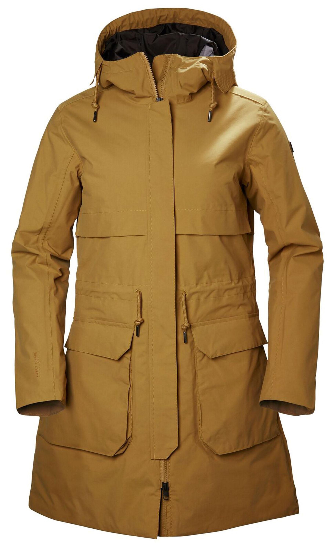 Helly Hansen Wm's Boyne Parka Langer Schutz! Ein richtiger Mantel für gemäßigte Winter und die Übergangszeit. Leichte Wärme dank Primaloft-Füllung, aber so, dass man ihn lange im Jahr tragen kann – bei starker Kälte mit einem dünnen Wollpulli. Wind- und wasserdicht, stilvoll und modisch, mit angeschnittener Kapuze. 230,00 Euro